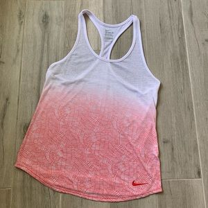 ☀️Nike- Dri Fit Cotton Racerback Tank